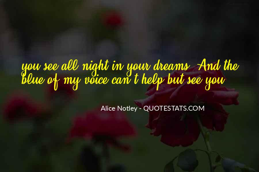 Quotes About Night Dreams #584454