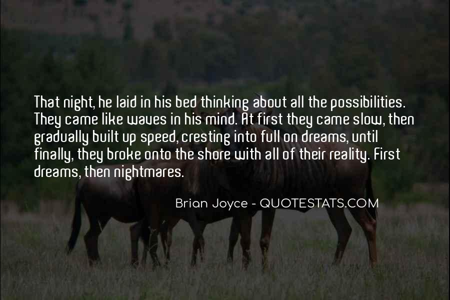 Quotes About Night Dreams #584491