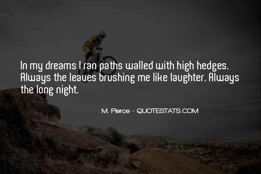Quotes About Night Dreams #599755