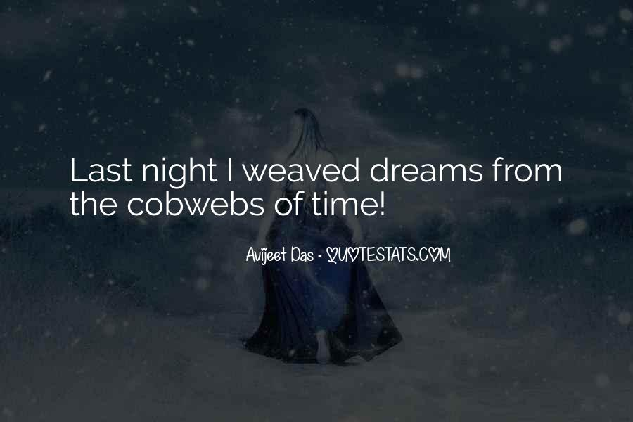 Quotes About Night Dreams #77217