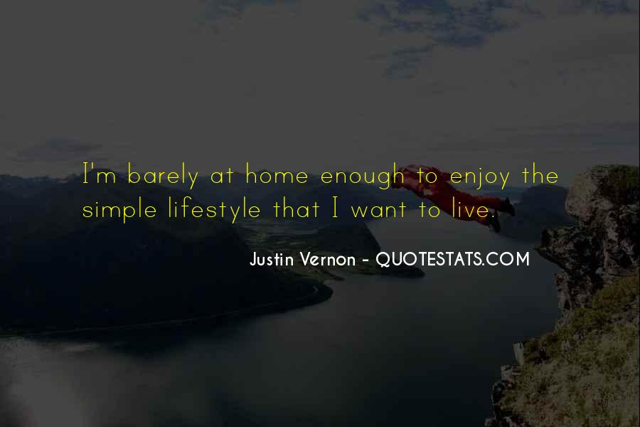 Quotes About Simple Lifestyle #1744821