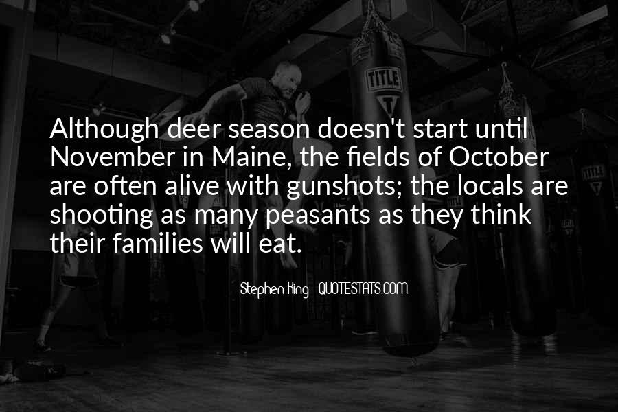 Quotes About Gunshots #532960