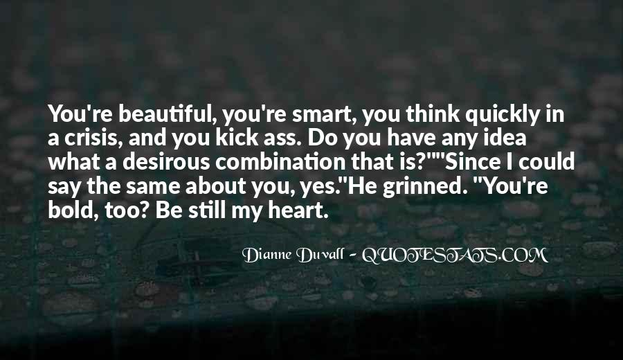 Quotes About Smart And Beautiful #1106103
