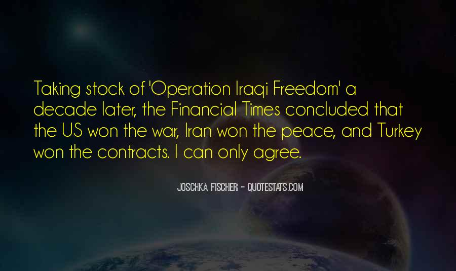 Quotes About War And Freedom #1142456