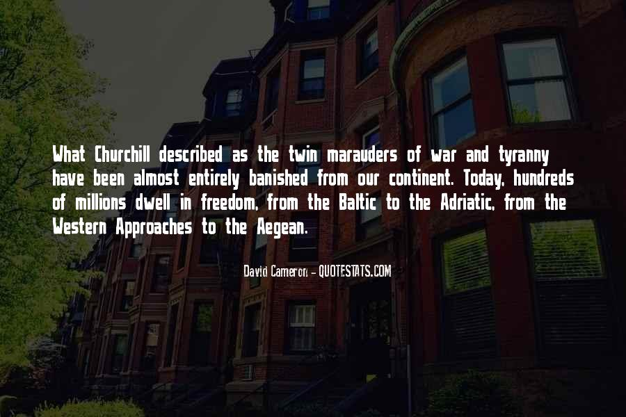 Quotes About War And Freedom #1253567