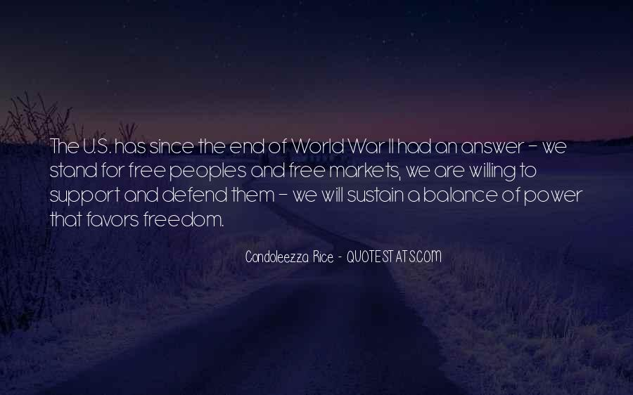 Quotes About War And Freedom #175469