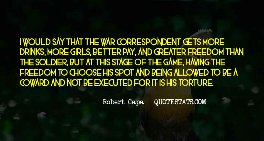 Quotes About War And Freedom #199202