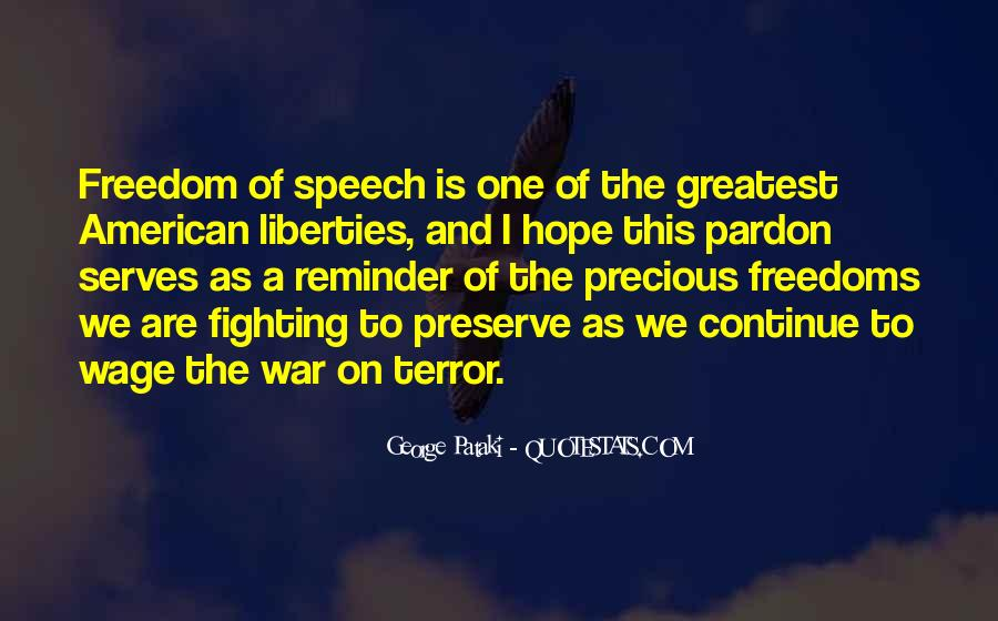 Quotes About War And Freedom #230328