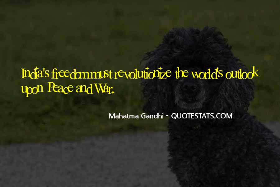 Quotes About War And Freedom #233934