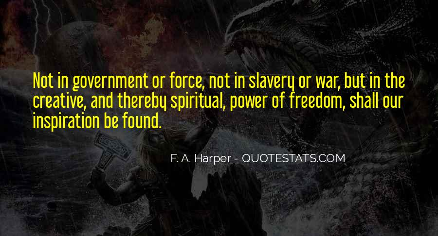 Quotes About War And Freedom #262886