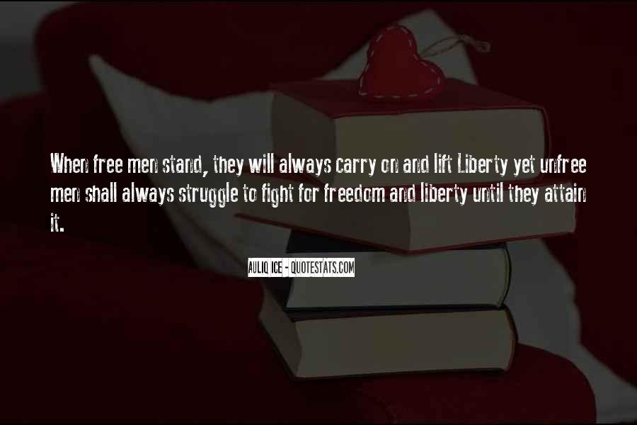 Quotes About War And Freedom #511159