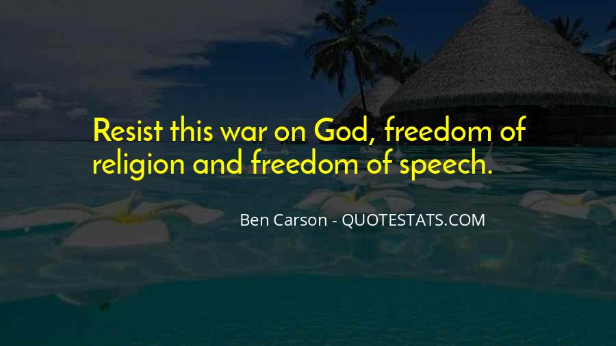 Quotes About War And Freedom #655350