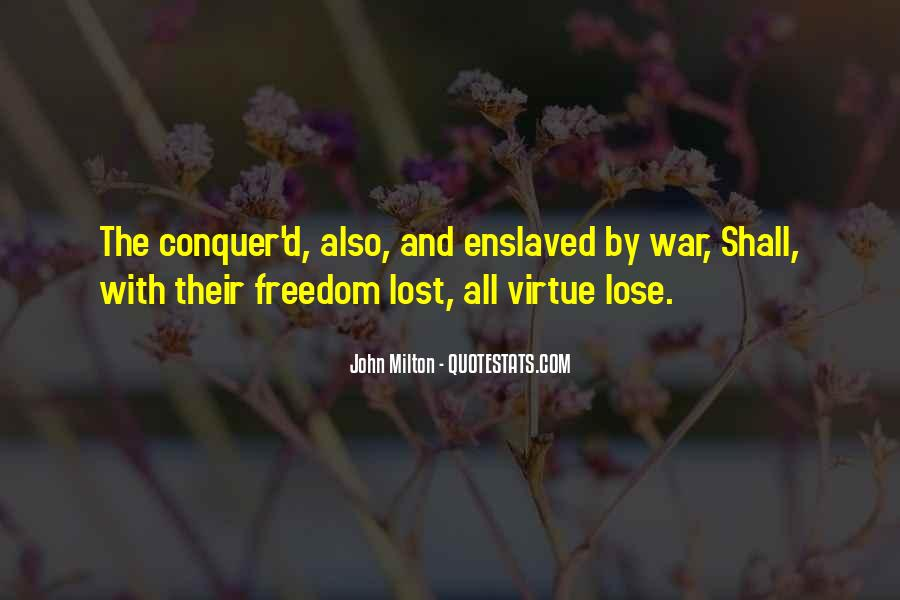 Quotes About War And Freedom #852630