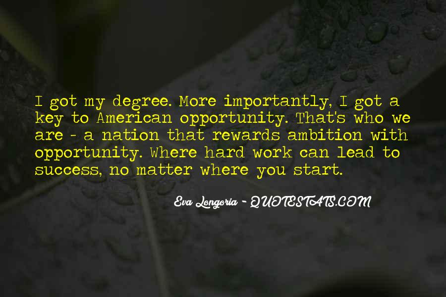 Quotes About Hard Work And Rewards #842412