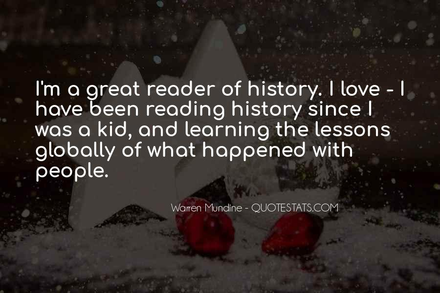 Quotes About History And Learning #1274734