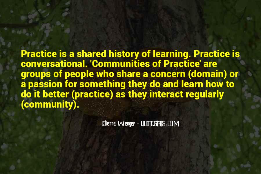 Quotes About History And Learning #1704455