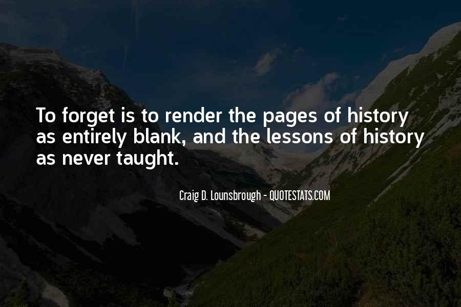 Quotes About History And Learning #1732954