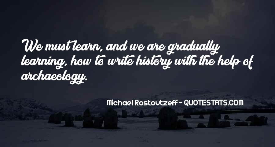 Quotes About History And Learning #1772212