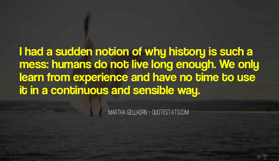 Quotes About History And Learning #209347