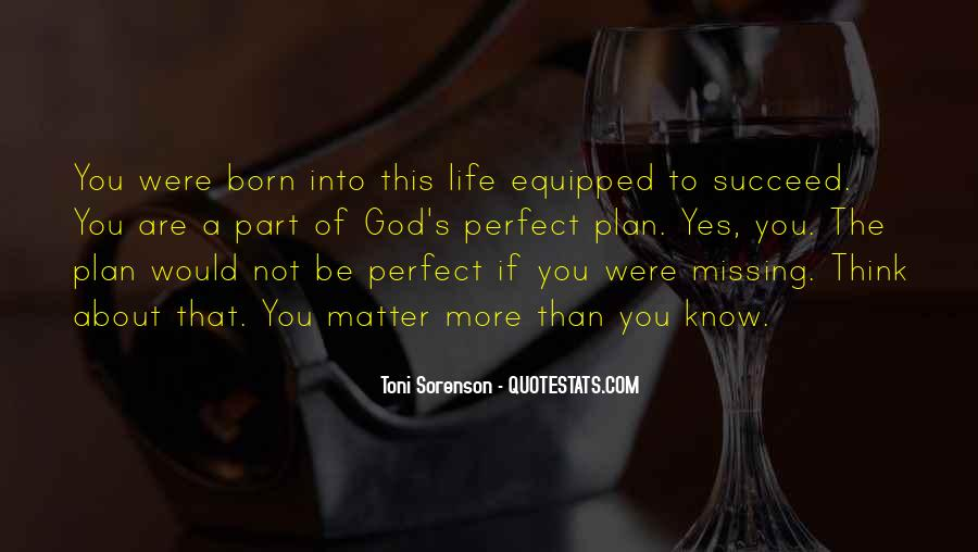 Quotes About Perfect Life #131077