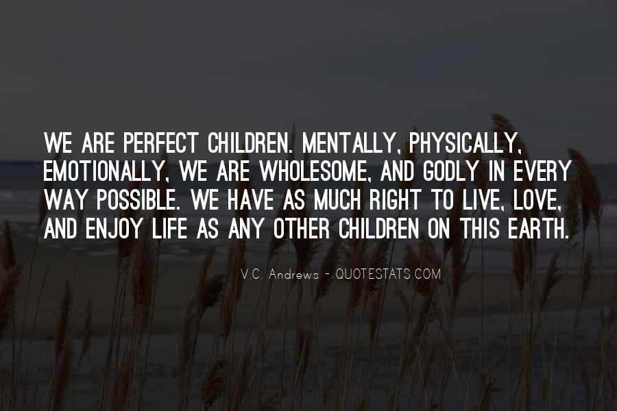 Quotes About Perfect Life #133774