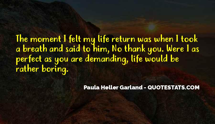 Quotes About Perfect Life #28841
