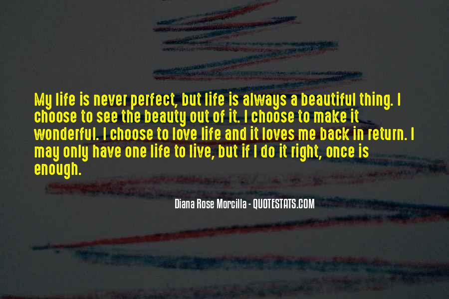 Quotes About Perfect Life #37755