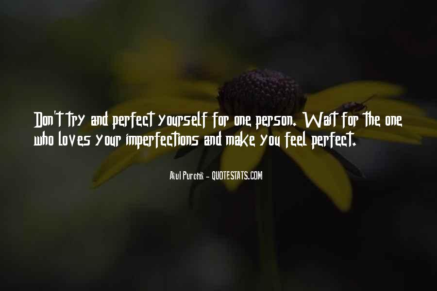 Quotes About Perfect Life #91372
