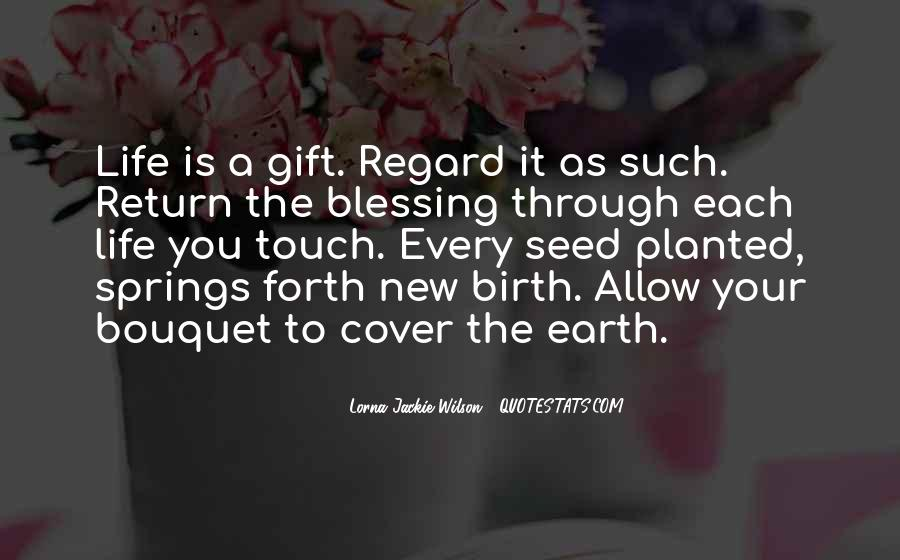 Quotes About New Life Birth #1610462