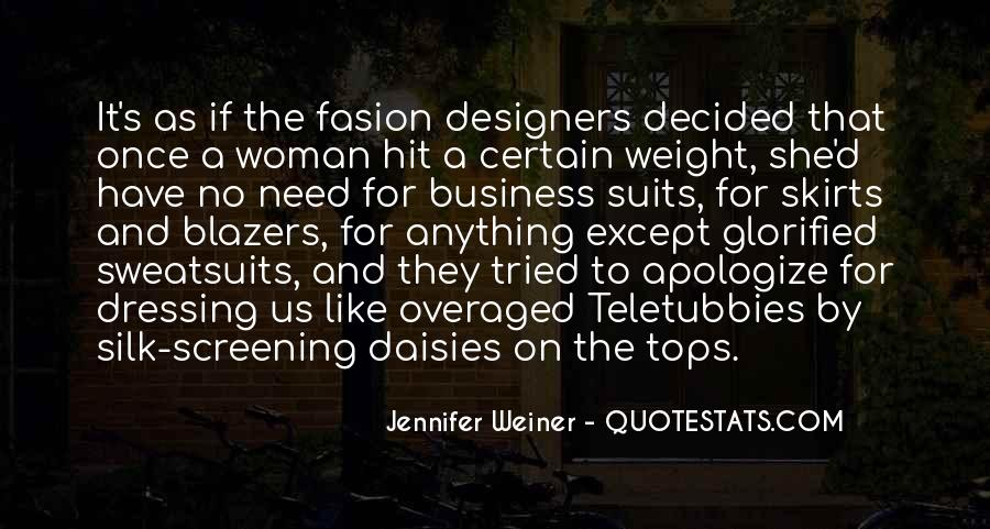Quotes About Blazers #1001823