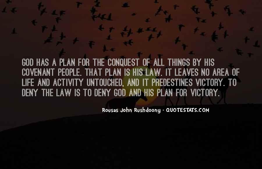 Quotes About God Having A Plan For Your Life #133384