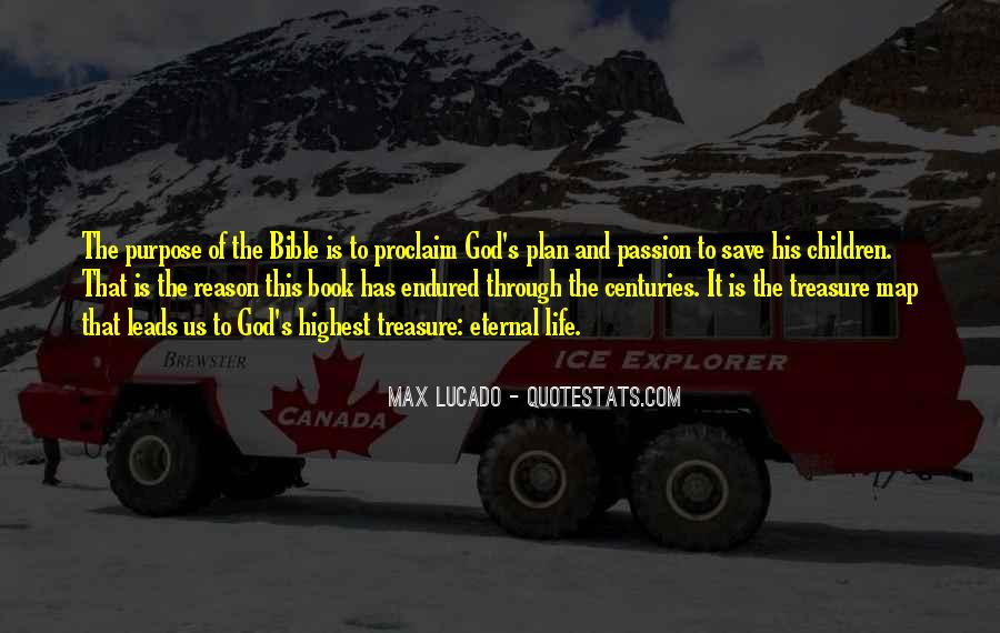 Quotes About God Having A Plan For Your Life #179213
