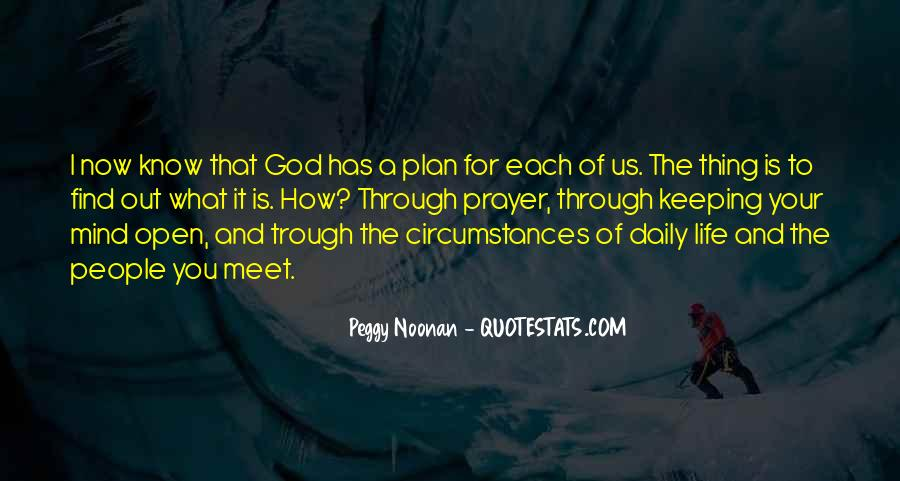 Quotes About God Having A Plan For Your Life #190877