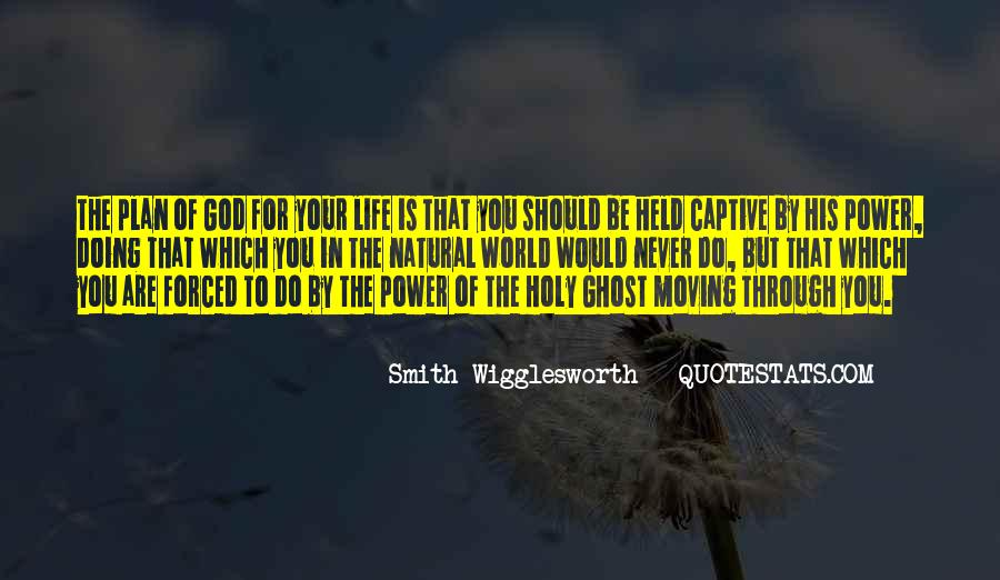 Quotes About God Having A Plan For Your Life #214275