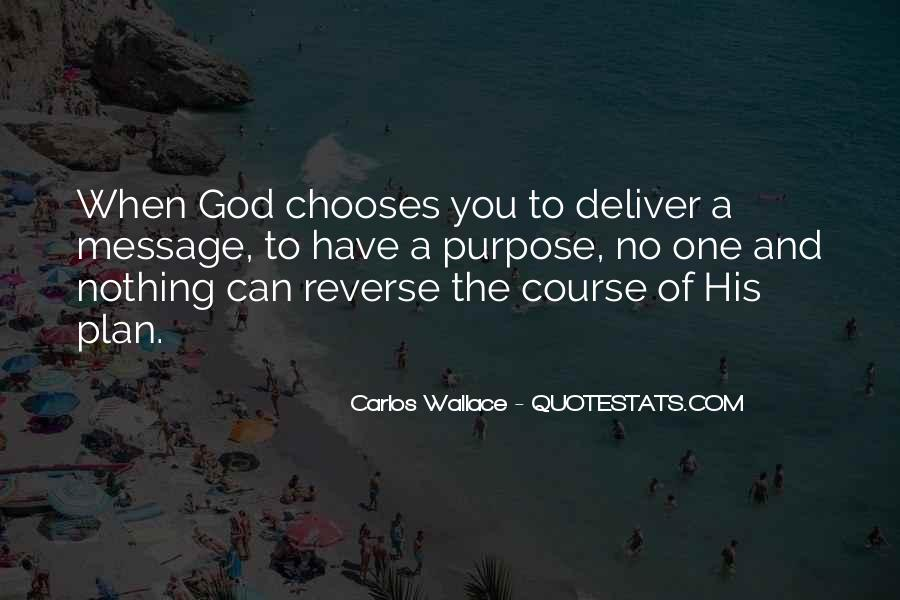 Quotes About God Having A Plan For Your Life #235880