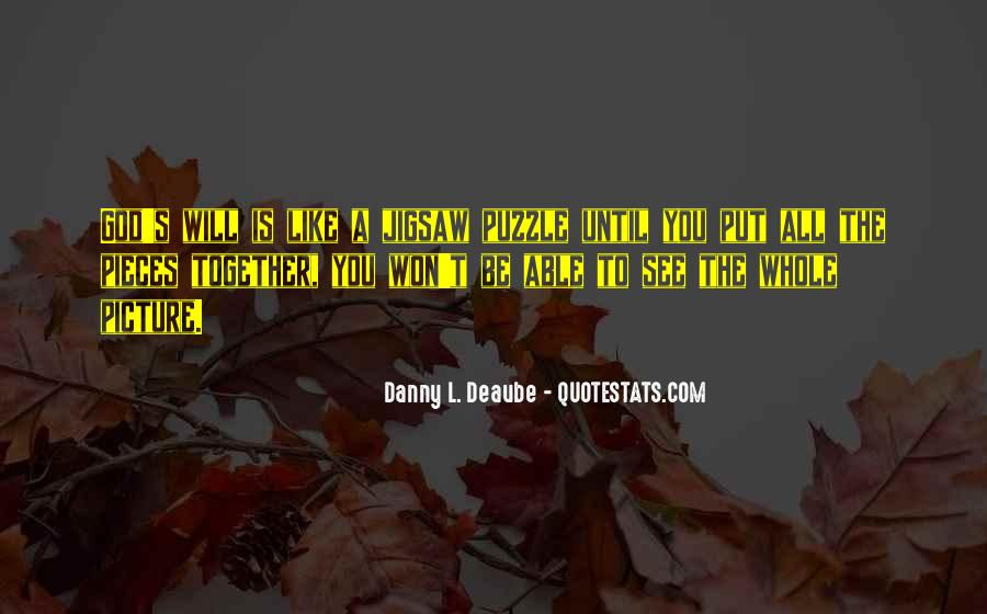 Quotes About God Having A Plan For Your Life #278669