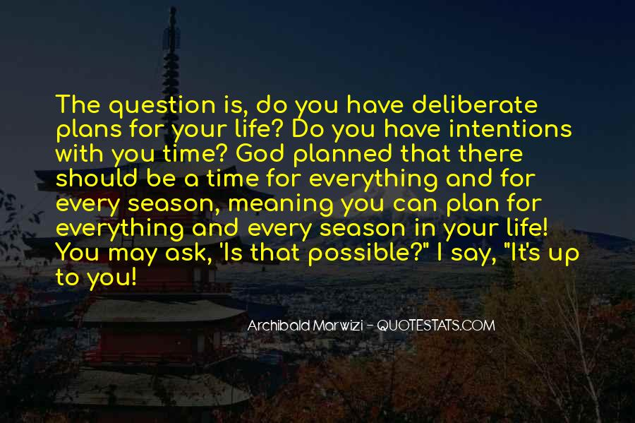 Quotes About God Having A Plan For Your Life #39233