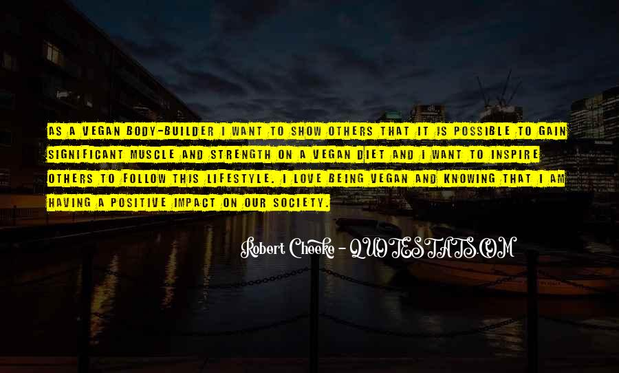 Quotes About Positive Impact On Others #1639137