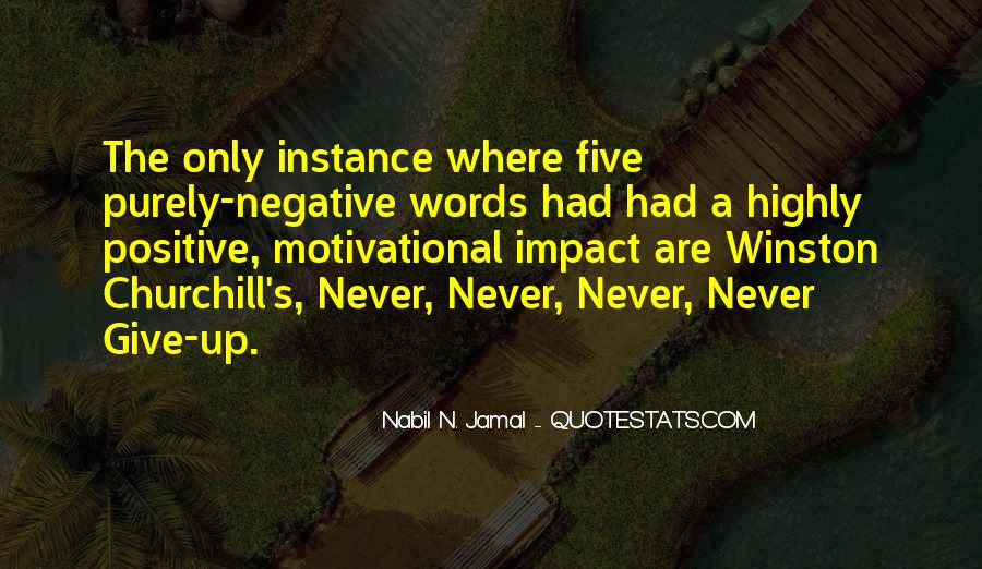 Quotes About Positive Impact On Others #251295