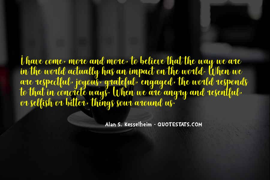 Quotes About Positive Impact On Others #315965