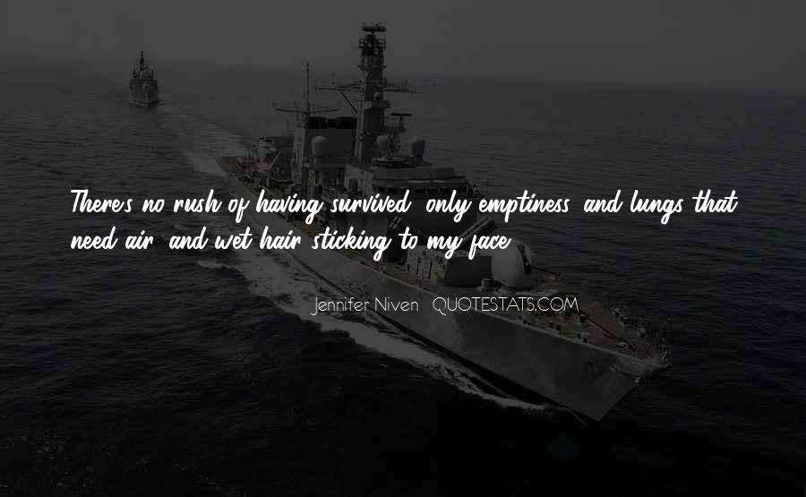 Quotes About Wet Hair #1302892