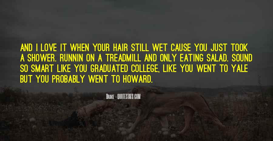 Quotes About Wet Hair #1450075