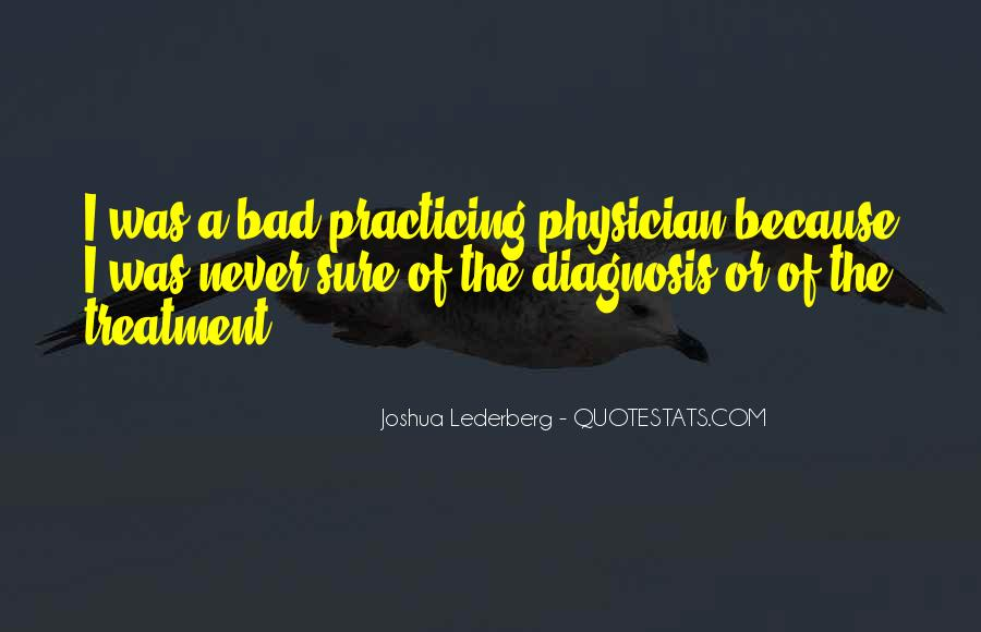 Quotes About A Bad Diagnosis #1759743