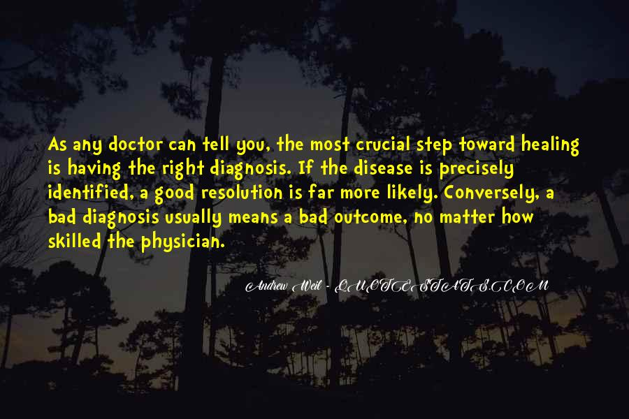 Quotes About A Bad Diagnosis #803941