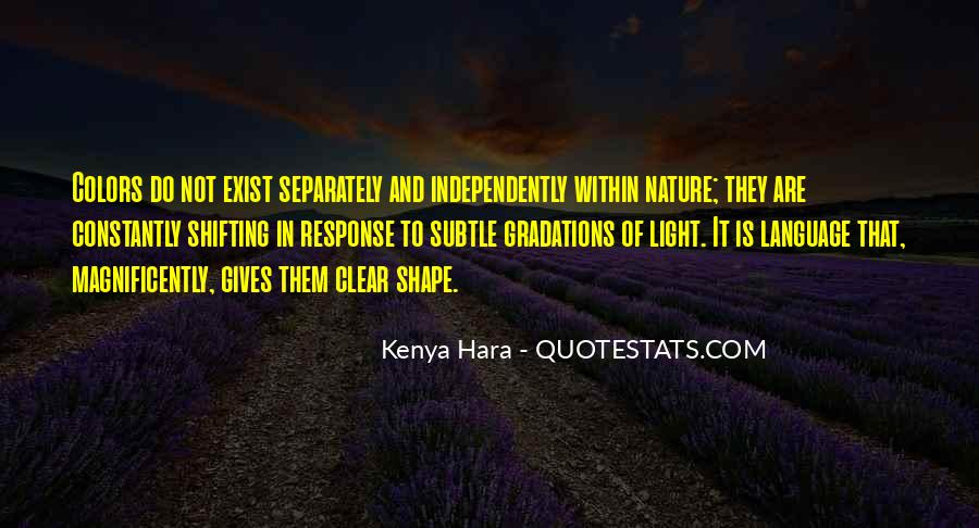 Quotes About Shape Shifting #1849045