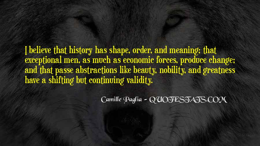 Quotes About Shape Shifting #1867369