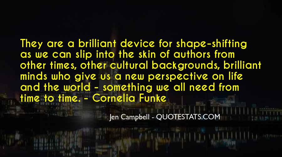 Quotes About Shape Shifting #274647