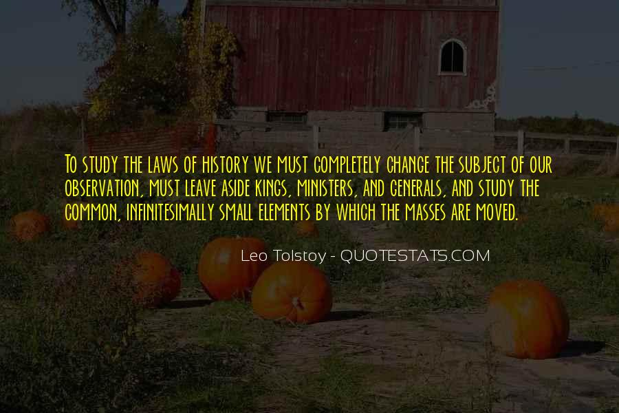 Quotes About Tolstoy History #1048199
