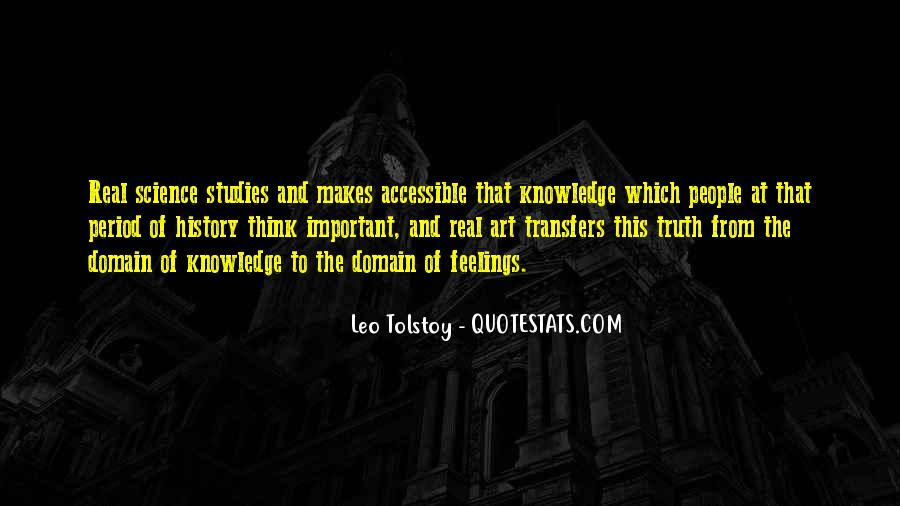 Quotes About Tolstoy History #1130181