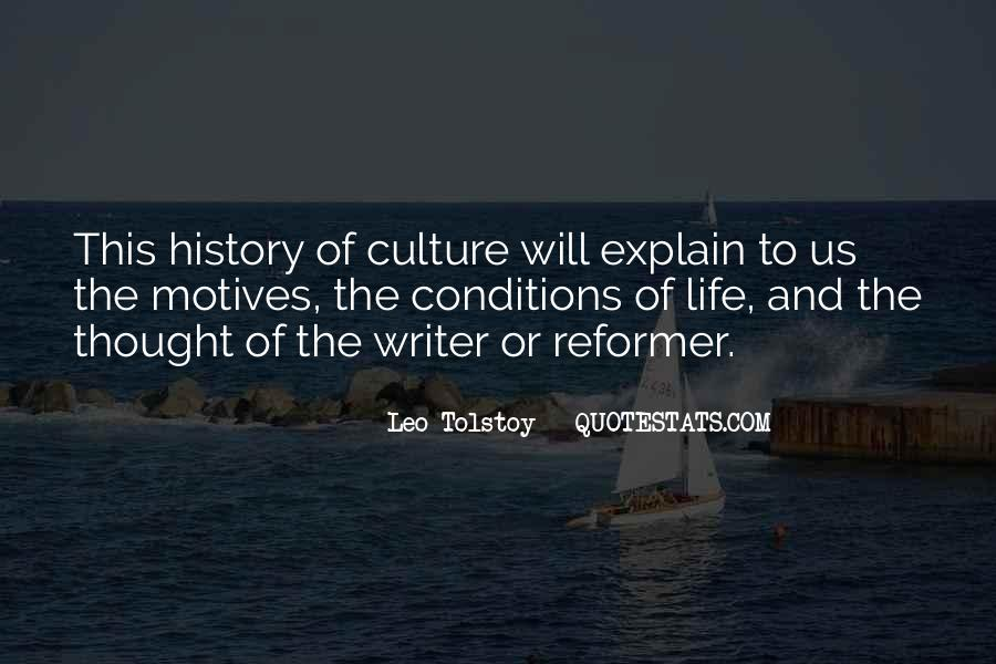 Quotes About Tolstoy History #1255012